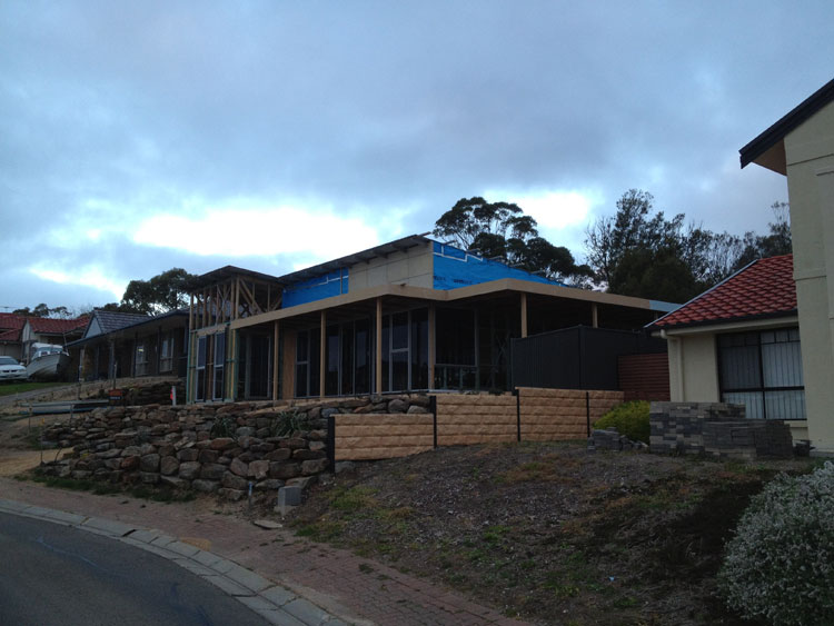 New Home Construction Wirrina Cove - Front