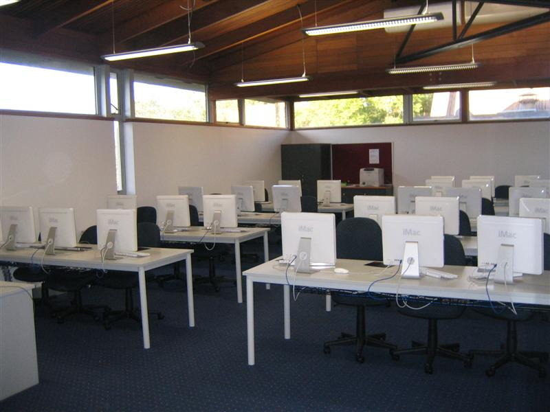 School Construction Pulteney Grammar - New Computer Lab